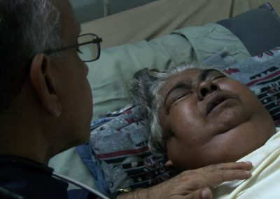 Cancer-Patient-Suseela-with-Dr-M-R-Rajagopal_Kerala-India