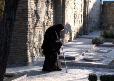 Nun-with-Walking-Stick_Tblisi-Georgia